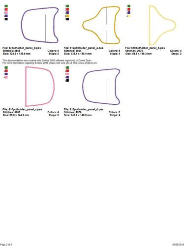 matriz de bordado lindos projetos pegador panela bc349