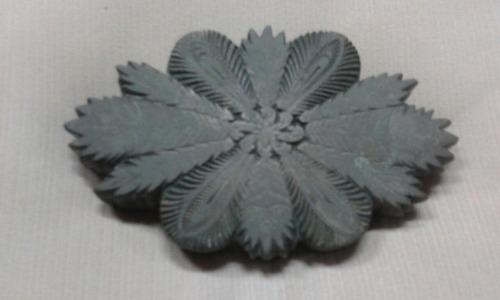 matriz em bronze para estamparia de 1832