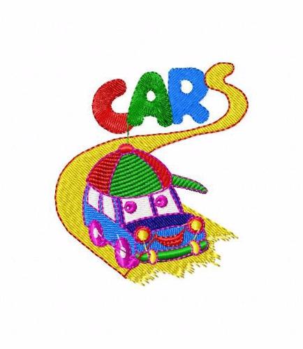 matriz para bordado bc2463 infantil carros