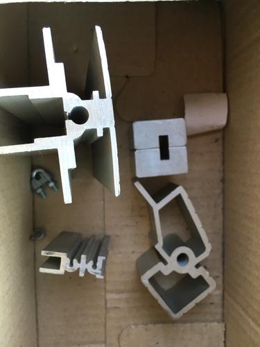 matriz para extrusado de perfil de aluminio varios modelos