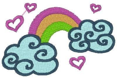 matrizes bordados coleção nuvens (envio por email)