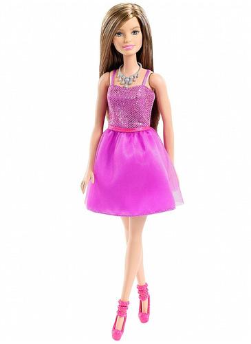 mattel barbie glitz figura basica