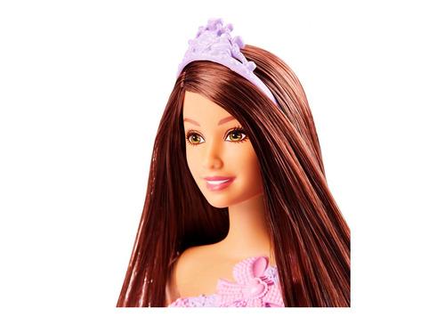 mattel barbie princesa figura basica