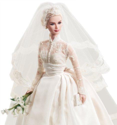 mattel barbie princess grace kelly la novia en silkstone