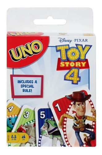 mattel cartas uno toy story 4 gdj88 scp pelusa regalos