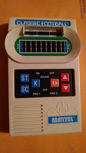 mattel classic football