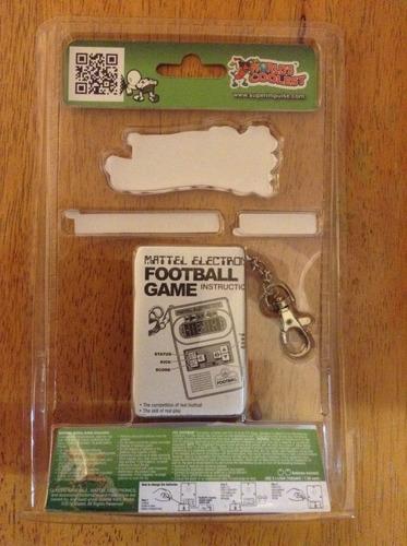 mattel futbol americano maquina el mas pequeños del mundo
