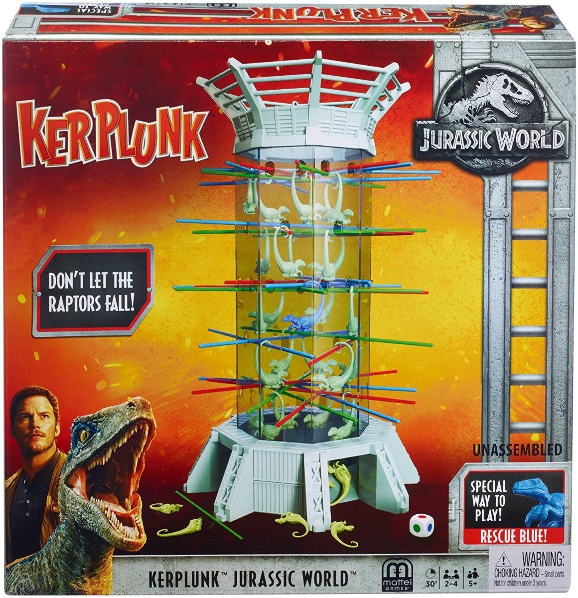 Mattel Juego De Mesa Kerplunk Jurassic World 899 00 En Mercado Libre