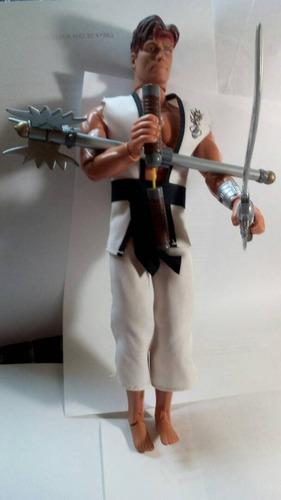 mattel max steel karateca juguete  original