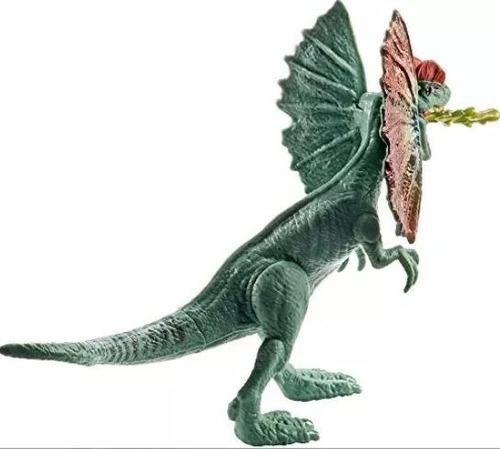 mattel mundo jurassic  ataque dilophosaurus  ref fpf11