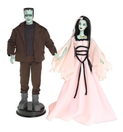 mattel - the munsters barbie - ken giftset - muñeca barbie