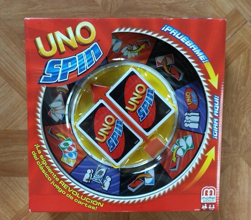 Mattel Uno Spin Juego De Mesa Original 549 00 En Mercado Libre