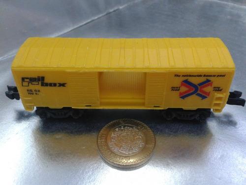 mattel - vagon de carga de 1983  m.i. hong kong