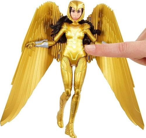 mattel wonder woman 1984 golden armor barbie ww84
