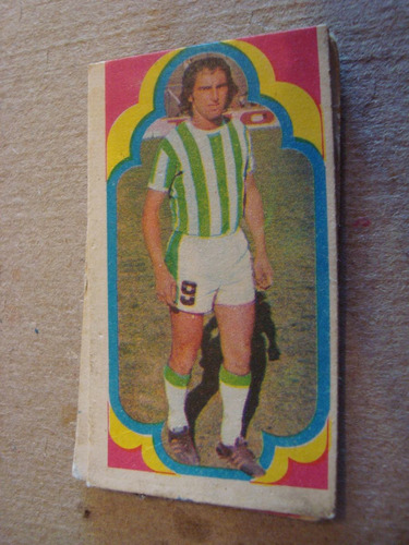 matteos 124 banfield figurita album estampa jugador 1975