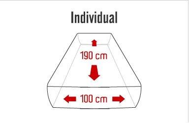 mattress individual bio colchon bio