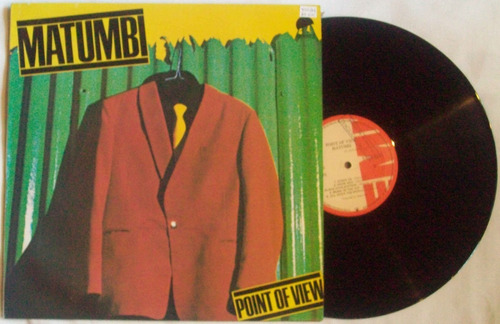 matumbi, point of view vinilo edicion colombia 1979