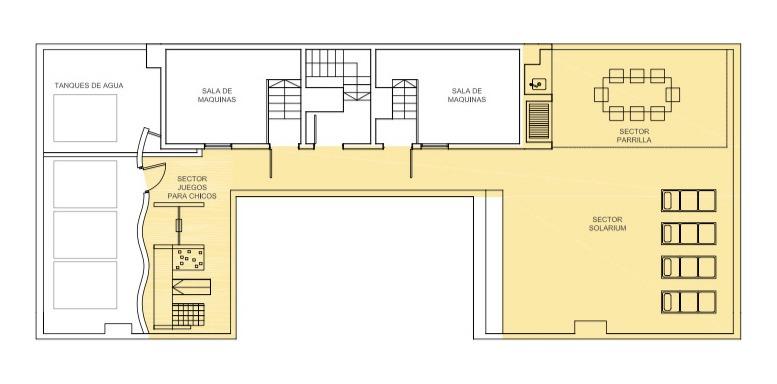 maure townhouse piso 9 con excelente vista abierta