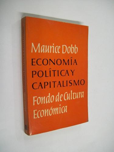 maurice dobb economia politica y capitalismo