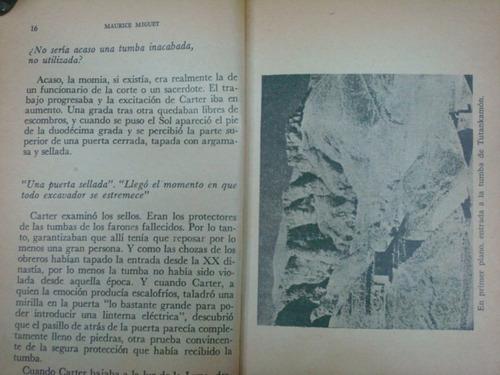 maurice miguet, tutankamon, editorial posada, méxico, 1974,