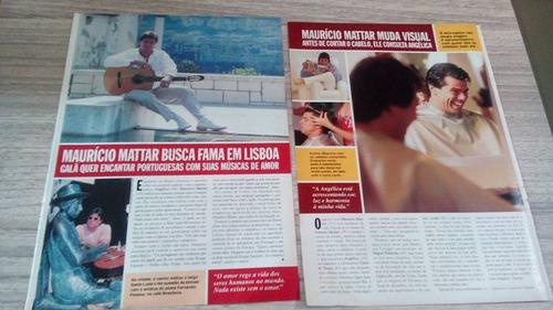 maurício mattar - material de revistas para colecionador 01