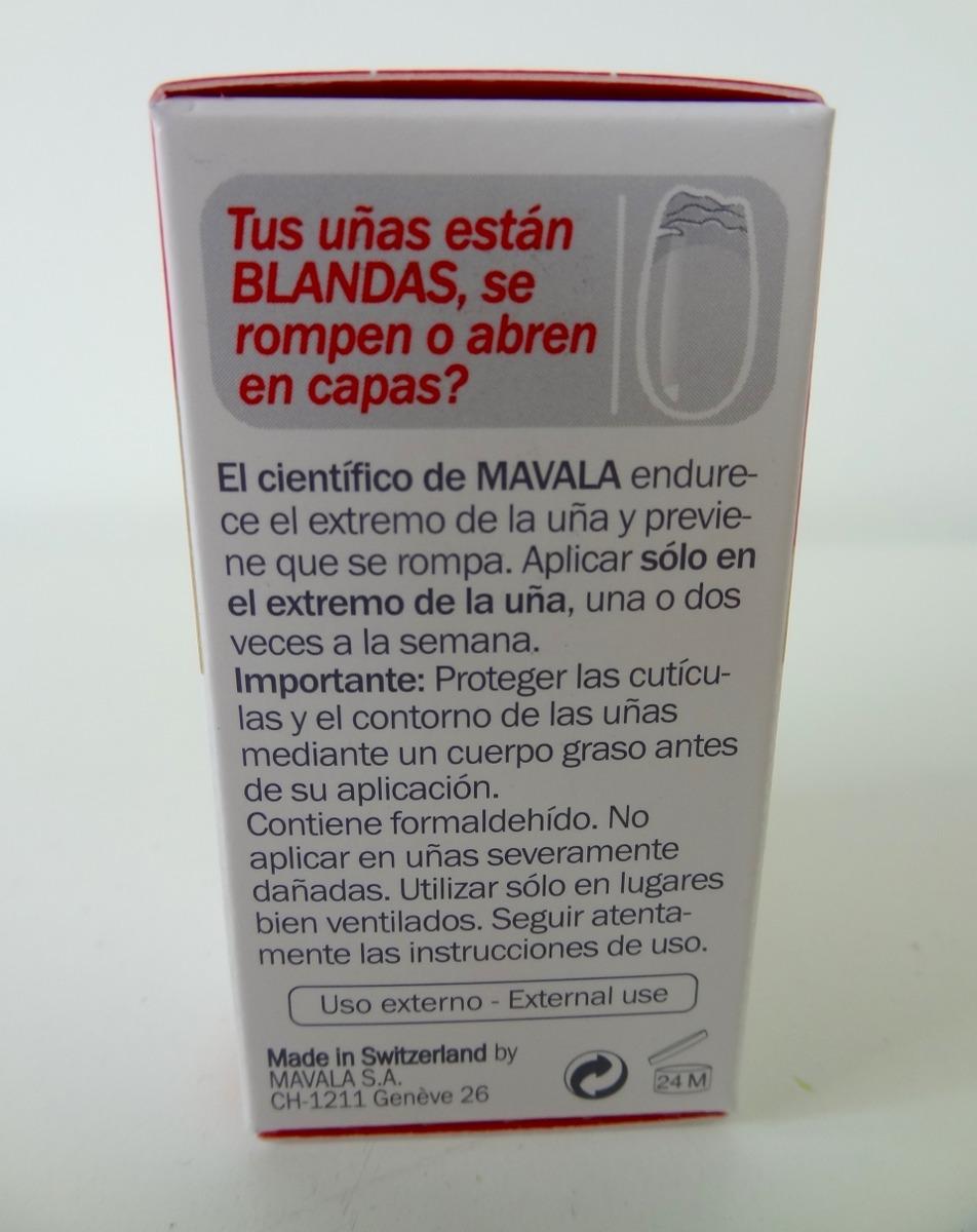 Mavala Cientifico Endurecedor De Uñas 5ml