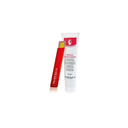 mavala crema de manos 120ml + lima origen suiza
