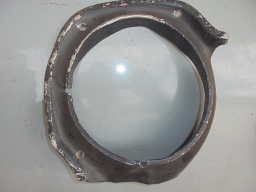 maverick gt - par de aros de farol original pra restaurar