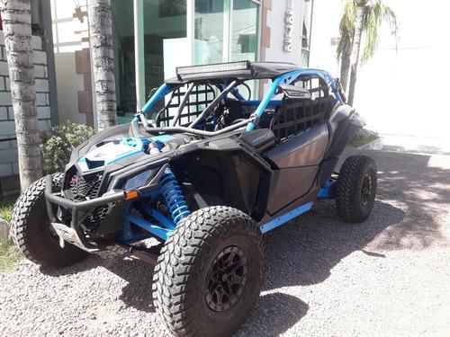 maverick x3 xrc turbo r18 canam 2018 negro/azul