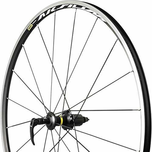 mavic aksium wheel black, rear, qr, shimano/sram