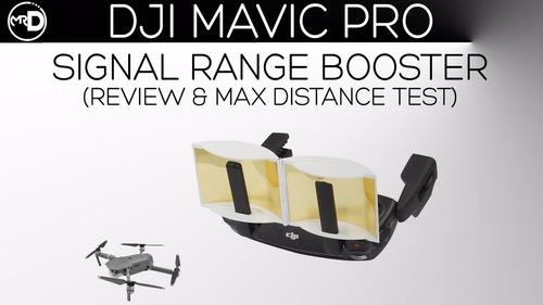 mavic drone extensor rango antena calidad de señal control