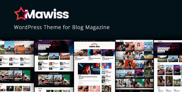 Mawiss - Tema Wordpress Para Blog, Diarios O Revistas Plus ...