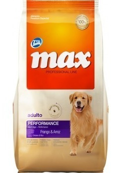 max adulto performance x  20kg