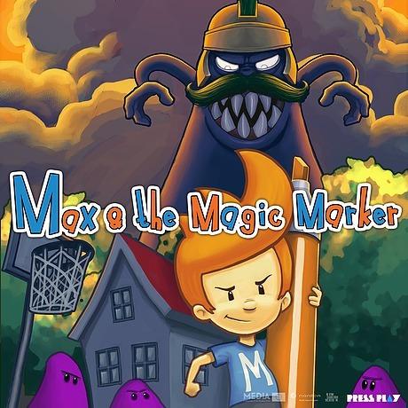 max and the magic marker - juego pc envío digital