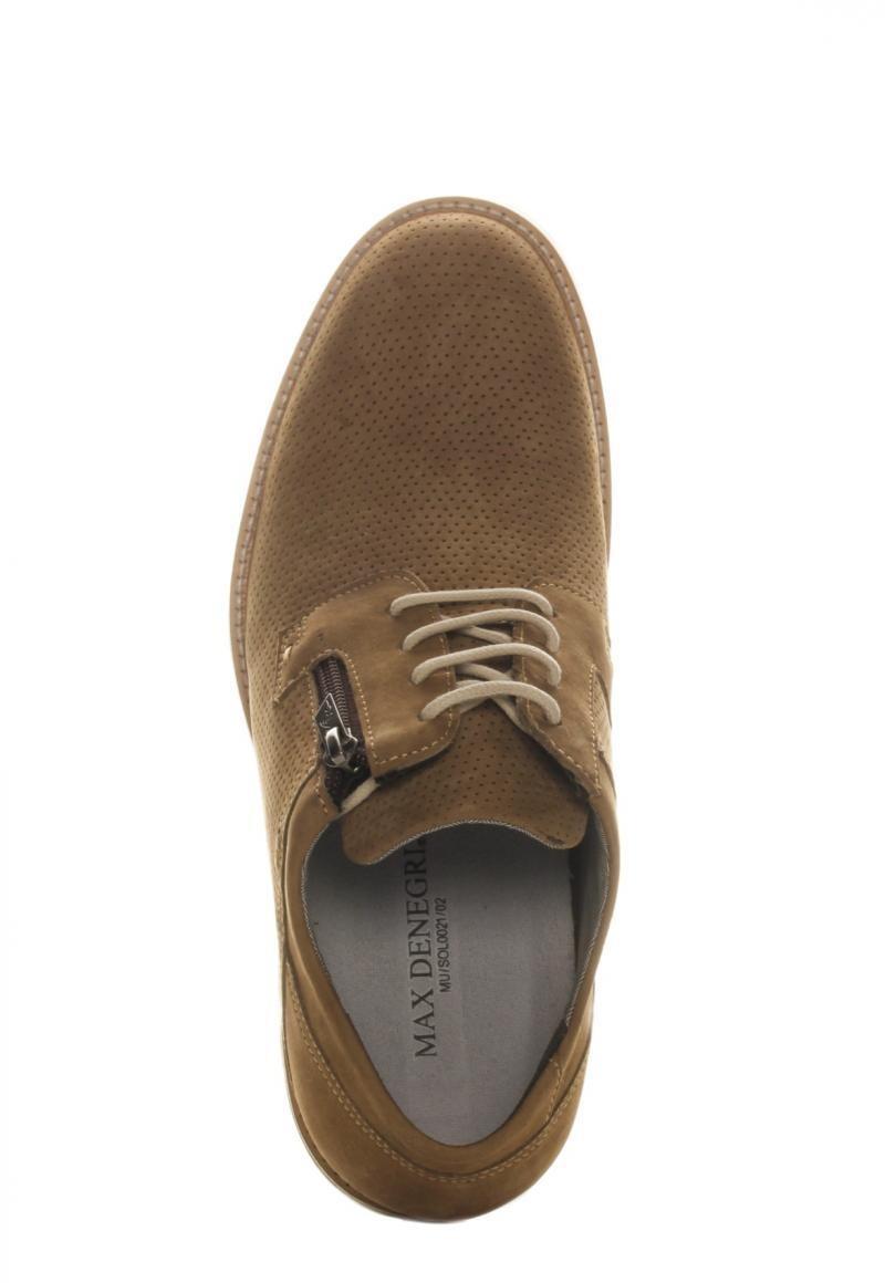 Zapato Break +7cms Light Brown Max Dengri bfE1QE
