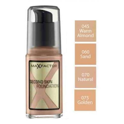 max factor second skin maquillaje larga duracion alice sale