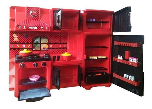 max house cozinha infantil gigi girl 703 lua de cristal