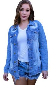 4494b63e346d Jaqueta Jeans Feminina - Calçados, Roupas e Bolsas com o Melhores Preços no  Mercado Livre Brasil
