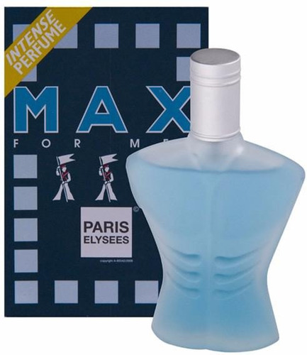 max paris elysees perfume masculino de 100 ml