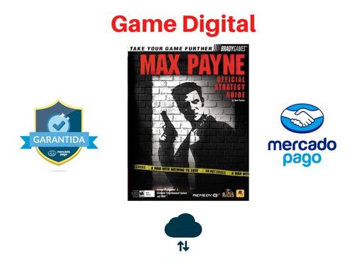 max payne 1 ptbr mídia digital pc