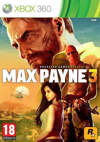 max payne 3 - español - xbox 360   vgm