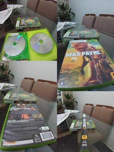 max payne 3 original usado xbox 360 /lu16#