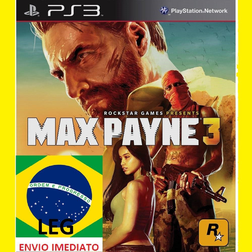 max payne 3 portugues ps3 psn midia digital