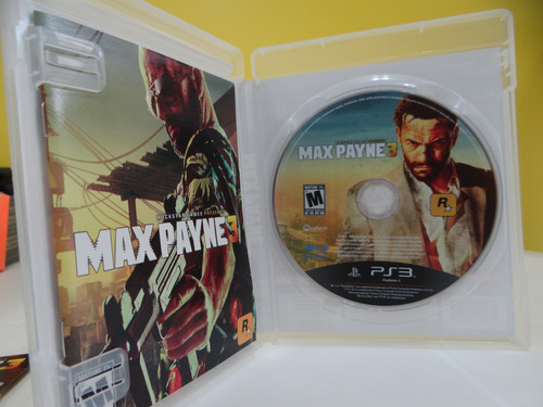 max payne 3 - ps3 - completo!