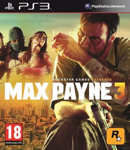 max payne 3 ps3 original playstation 3