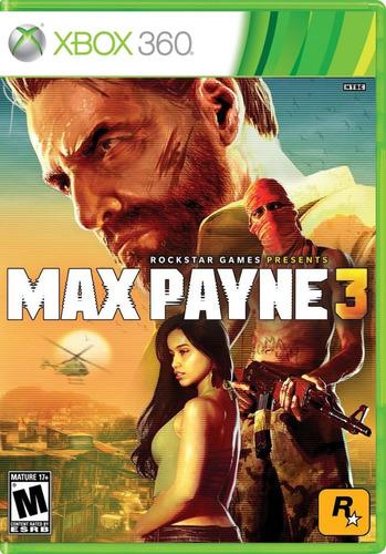 max payne 3 xbox 360 nuevo