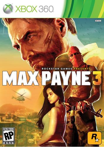 max payne 3 xbox 360 nuevo, sellado ntsc