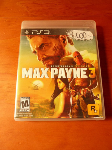 max payne juego ps3