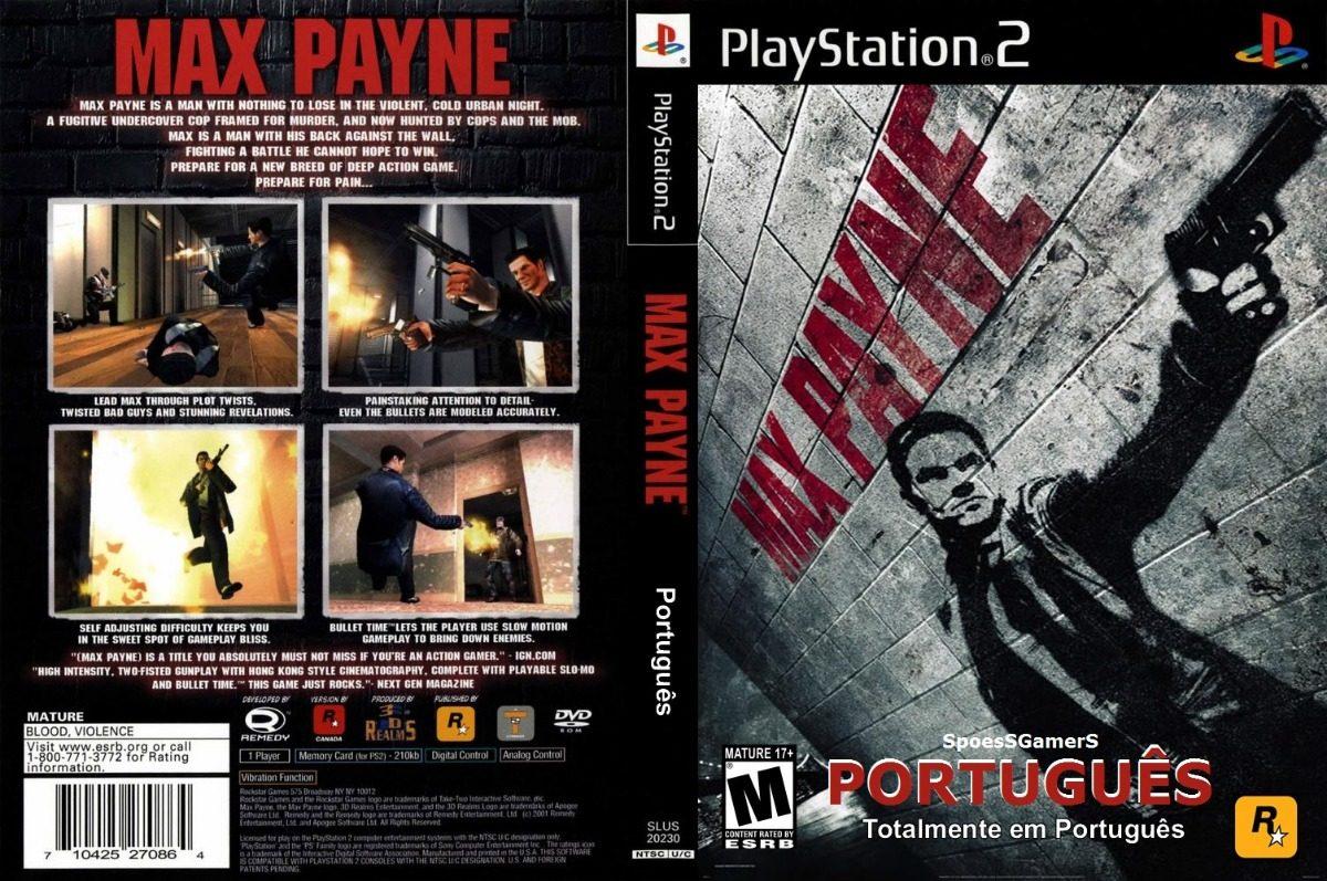 Max Payne Ps2 1 Em Portugues Patch R 11 24 Em Mercado Livre