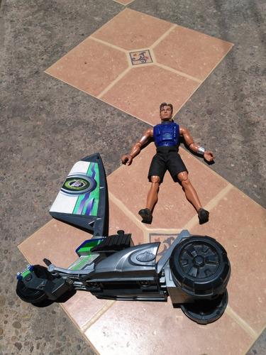 max steal  con vehículo aerodinámico